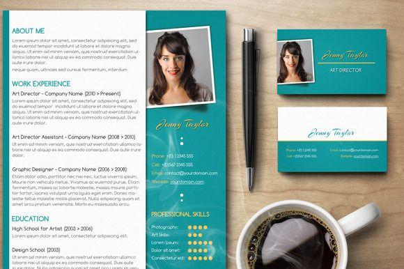 premium résumé set v2 pinterest cv template business resume and