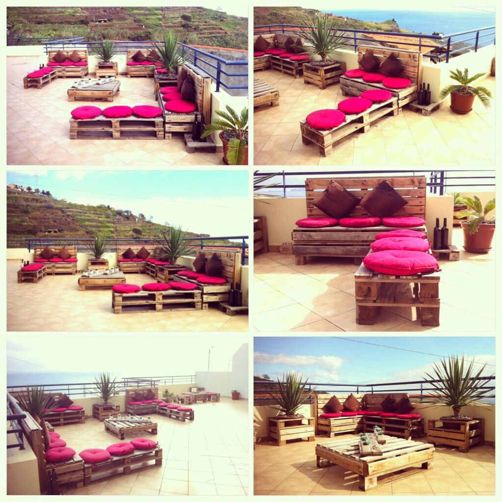 What you can make with pallets :)