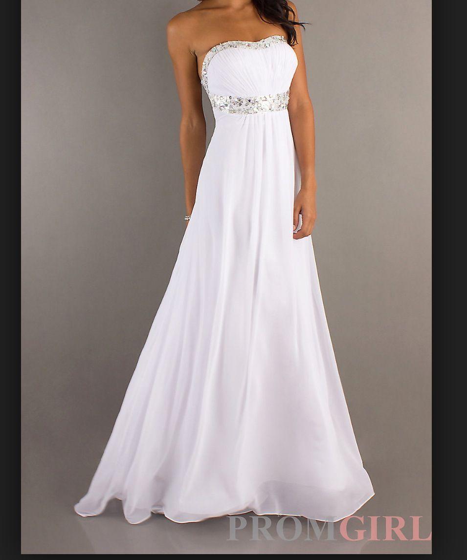White long dress dresses pinterest