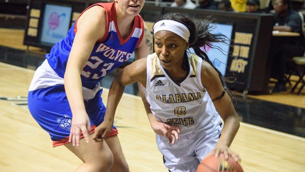 Alabama State Women S Basketball Drops Final Non Conference Game At Auburn Womens Basketball Alabama State Women