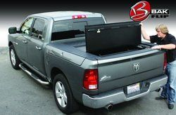 """BAK Industries 72207 F1 BakFlip Tonneau Cover for Dodge RAM Crew Cab 66.75"""" Short Bed"""