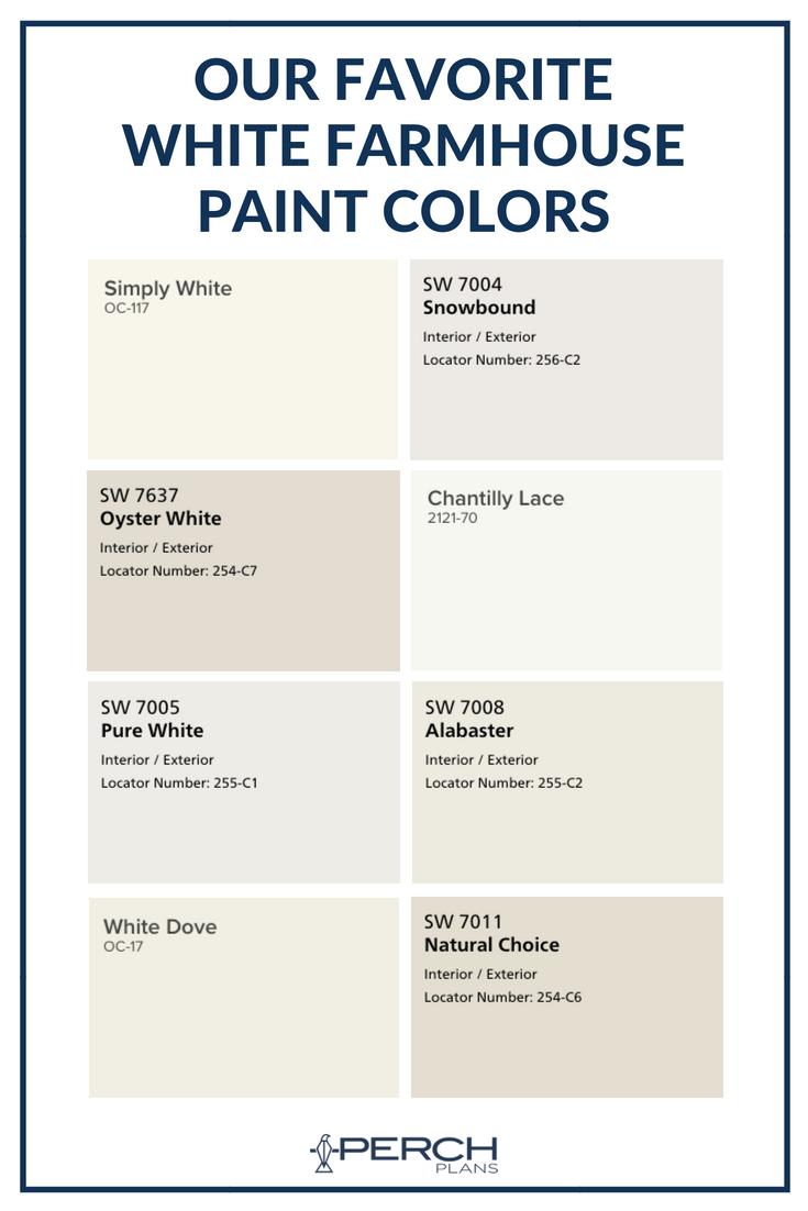 The Best White Modern Farmhouse Exterior Paint Colors White Paint Colors Farmhouse Paint Colors Interior White Exterior Paint