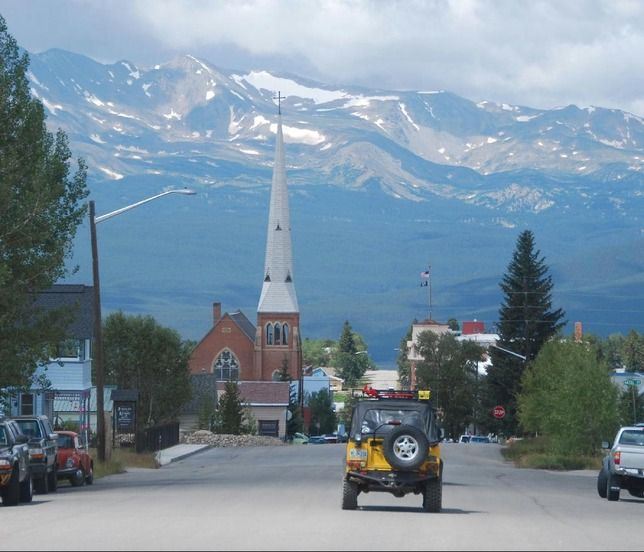 Colorado Elevation: Leadville, Co. Highest Elevation Town In The USA