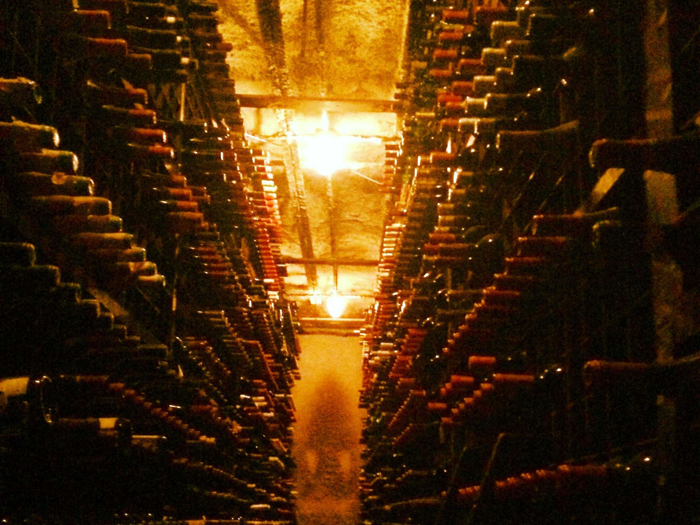 Bern's Steakhouse in Tampa, Fl. has the largest wine cellar in the world.