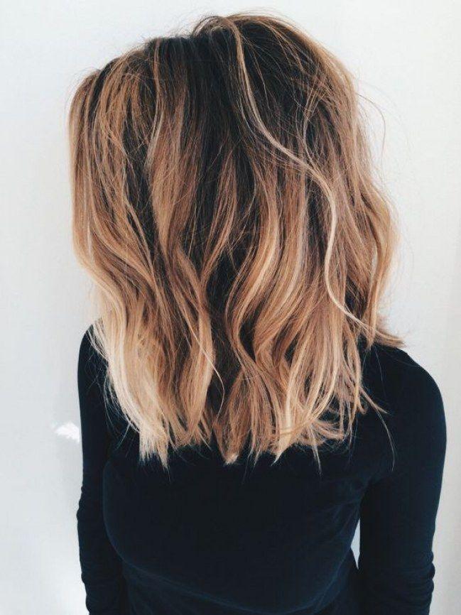Strähnchen Abc Das Bedeuten Die Haarfärbe Trends Balayage Sombré