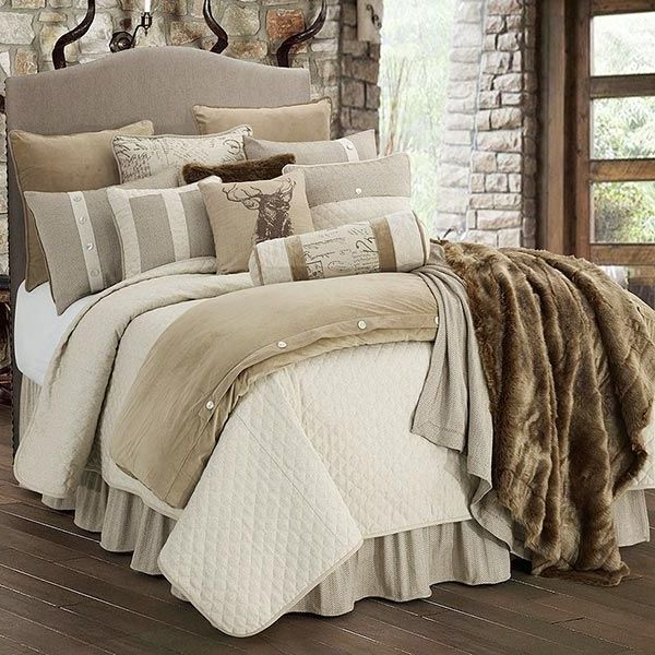 16 Classy Rustic Bedroom Designs: 25 Best Rustic Comforter Sets Ideas On Pinterest Farmhouse