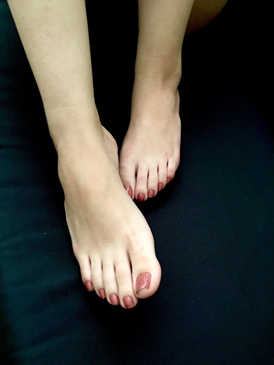 Female feet and toes