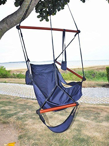 Etonnant American Phoenix New Deluxe Patio Yard Hanging Hammock Air Chair Swing  Hanging Chair Sky Ride With