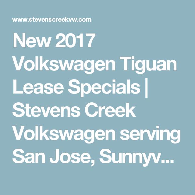 San Jose & Bay Area, CA VW Tiguan Specials