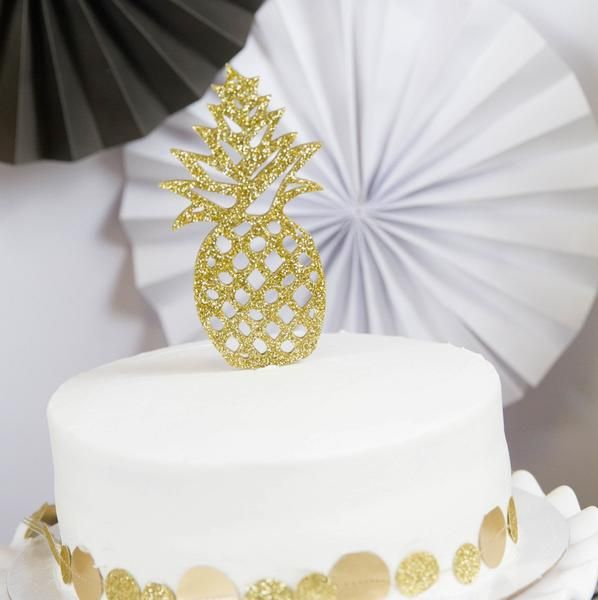 Pineapple Cake Topper Birthdays And Birthday Party Ideas