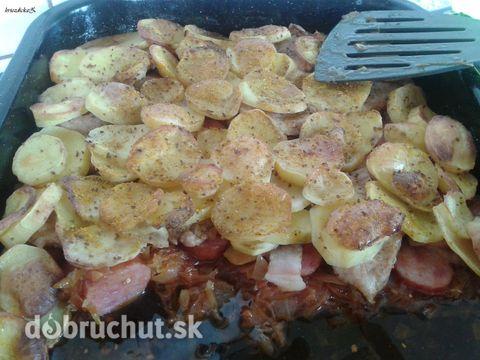 Fotorecept: Kapustová pochúťka - Výborné jedlo :)