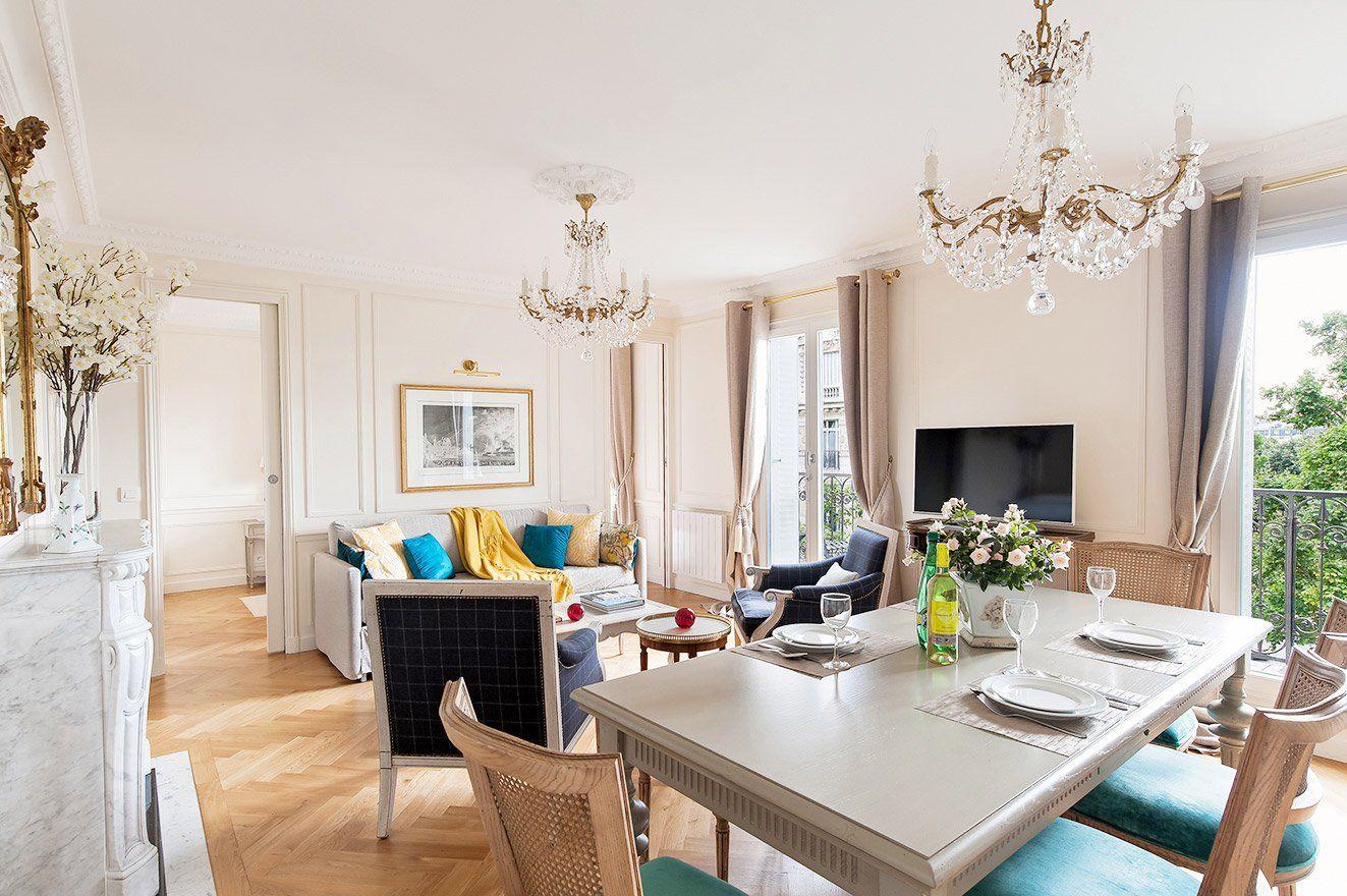 2 bedroom paris apartment near eiffel tower with ac