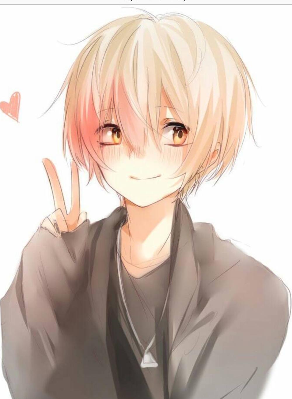 1077 1473 In 2020 Anime Boy Hair Blushing Anime Cute Anime Guys