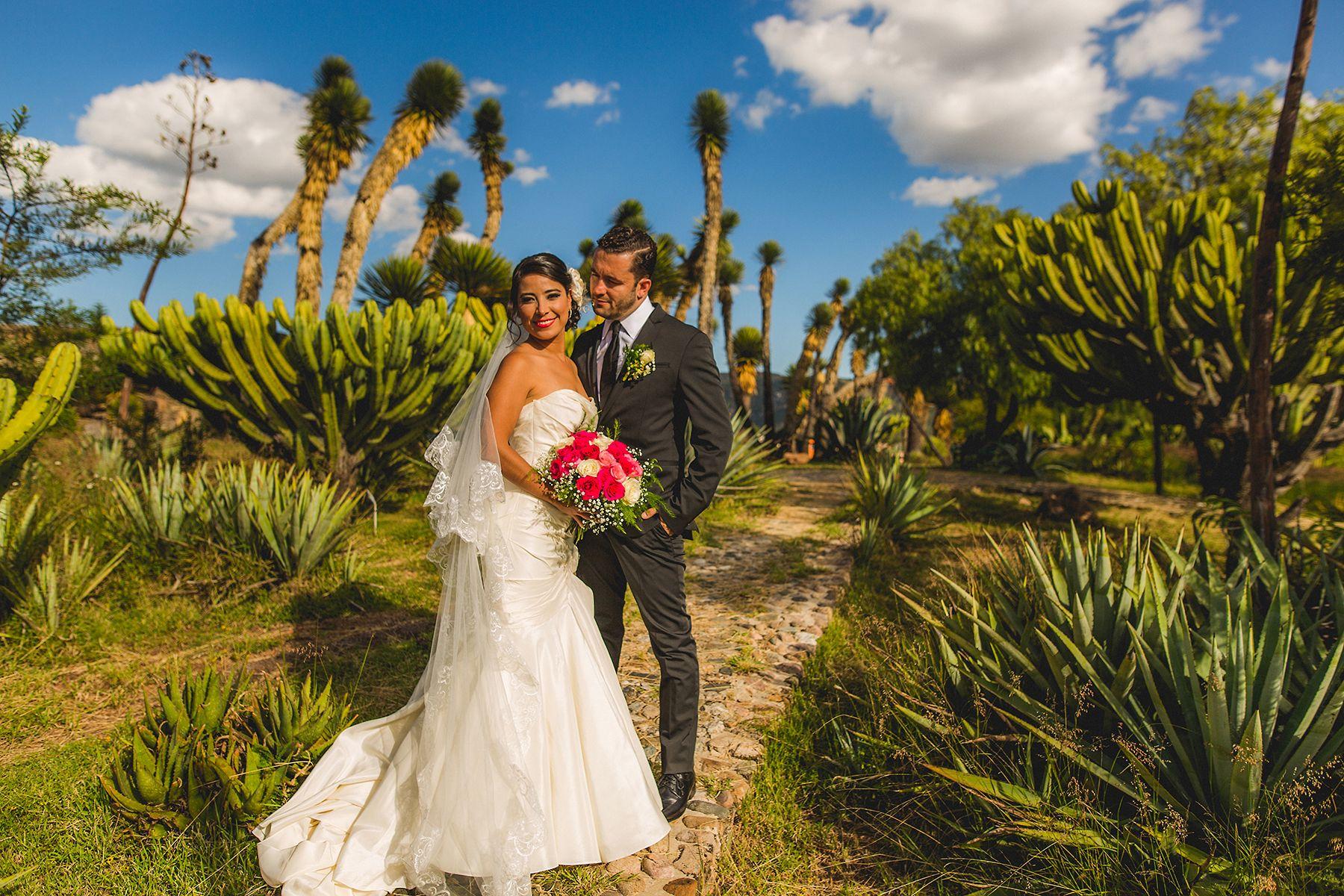 Hispanic Couple Mexico Destination Wedding Christian