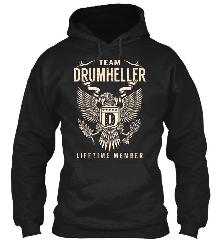 Team DRUMHELLER Lifetime Member #Drumheller