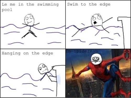 Im Spiderman Spiderman Funny Funny Pictures Funny Memes