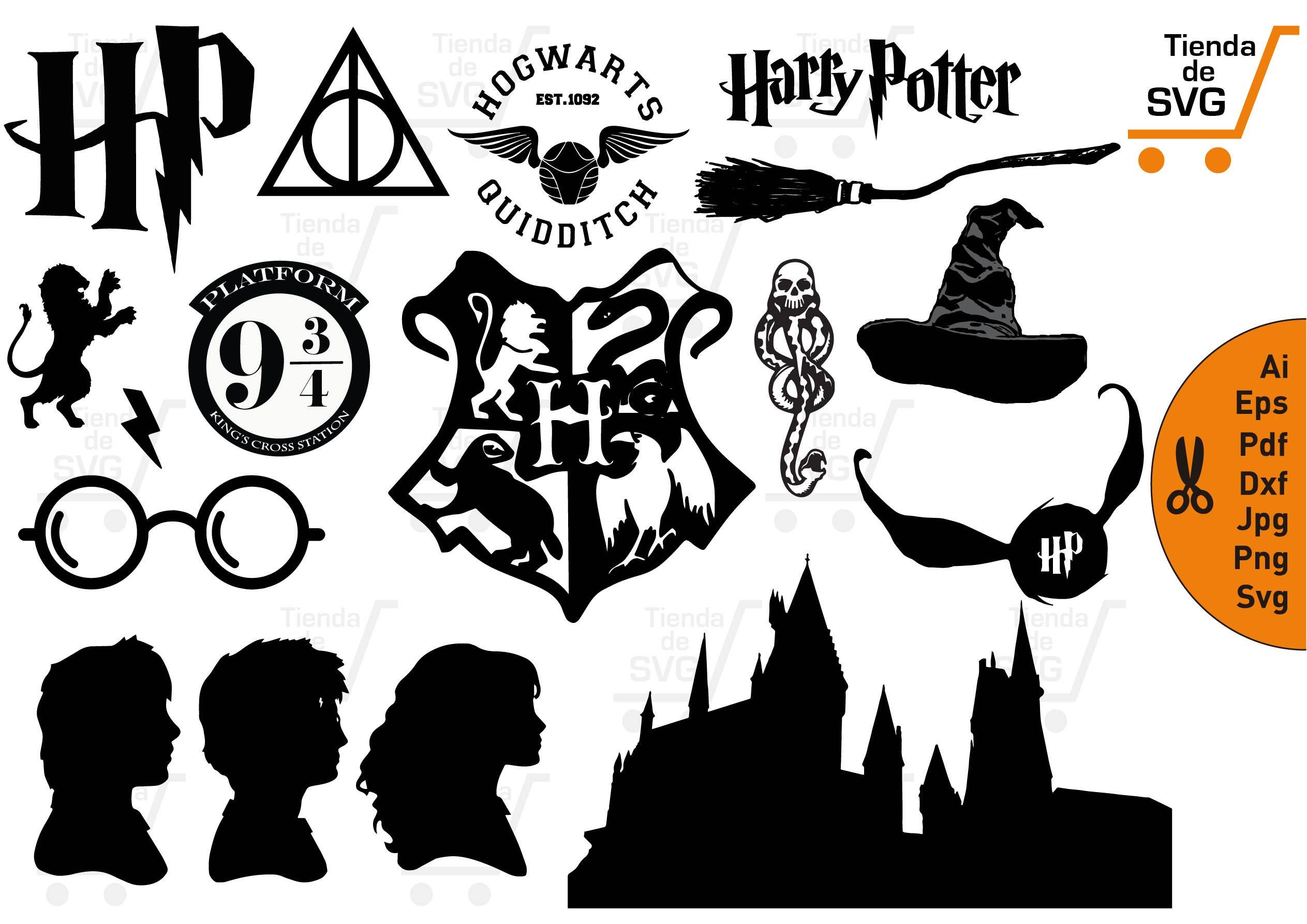Harry Potter Clipart To Free Free Clipart Images Harry Potter Clip Art Harry Potter Silhouette Harry Potter Cups