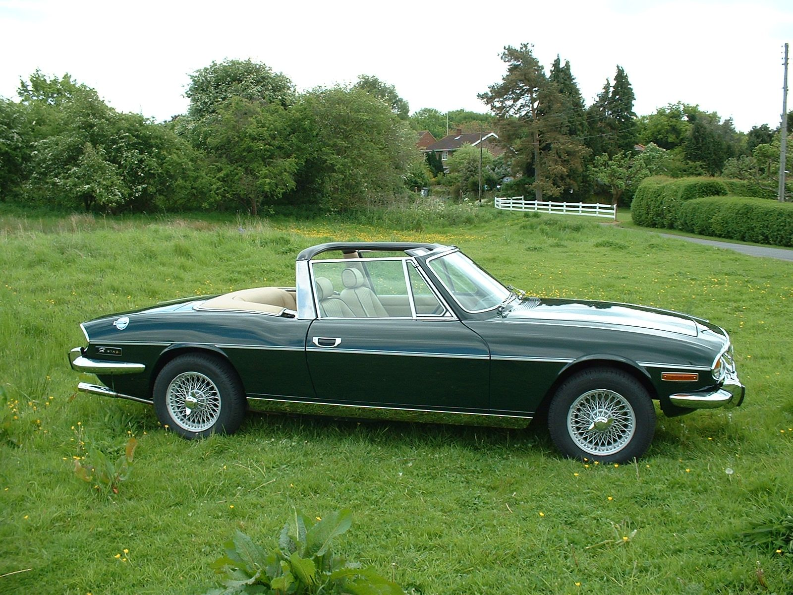 1972 Triumph Stag. A promising design undermined by a militant labor force  and smothering management. Cost targets meant the 3.0-liter Triumph V8 was  a ...