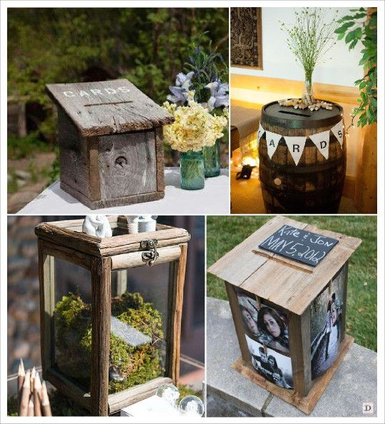 1000 images about urne mariage on pinterest personalized wedding shabby chic and wedding card boxes - Urne Mariage Champetre