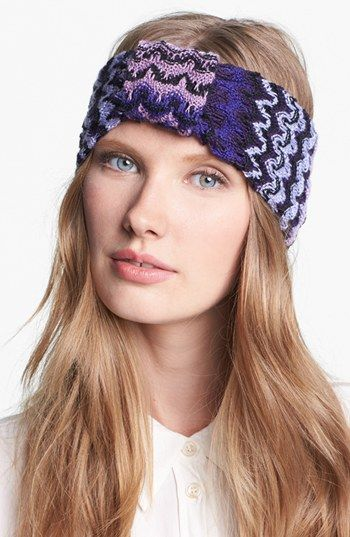 Missoni Zigzag Ombr 233 Head Wrap At Nordstrom How To Wear