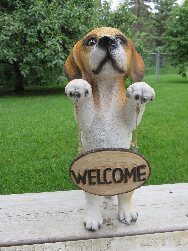 Beagle Dog Standing Figurine Dogs, Pets, Dog