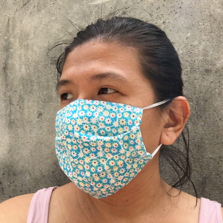 I Love My Handmade Organic Cloth Surgical Mask Handmade