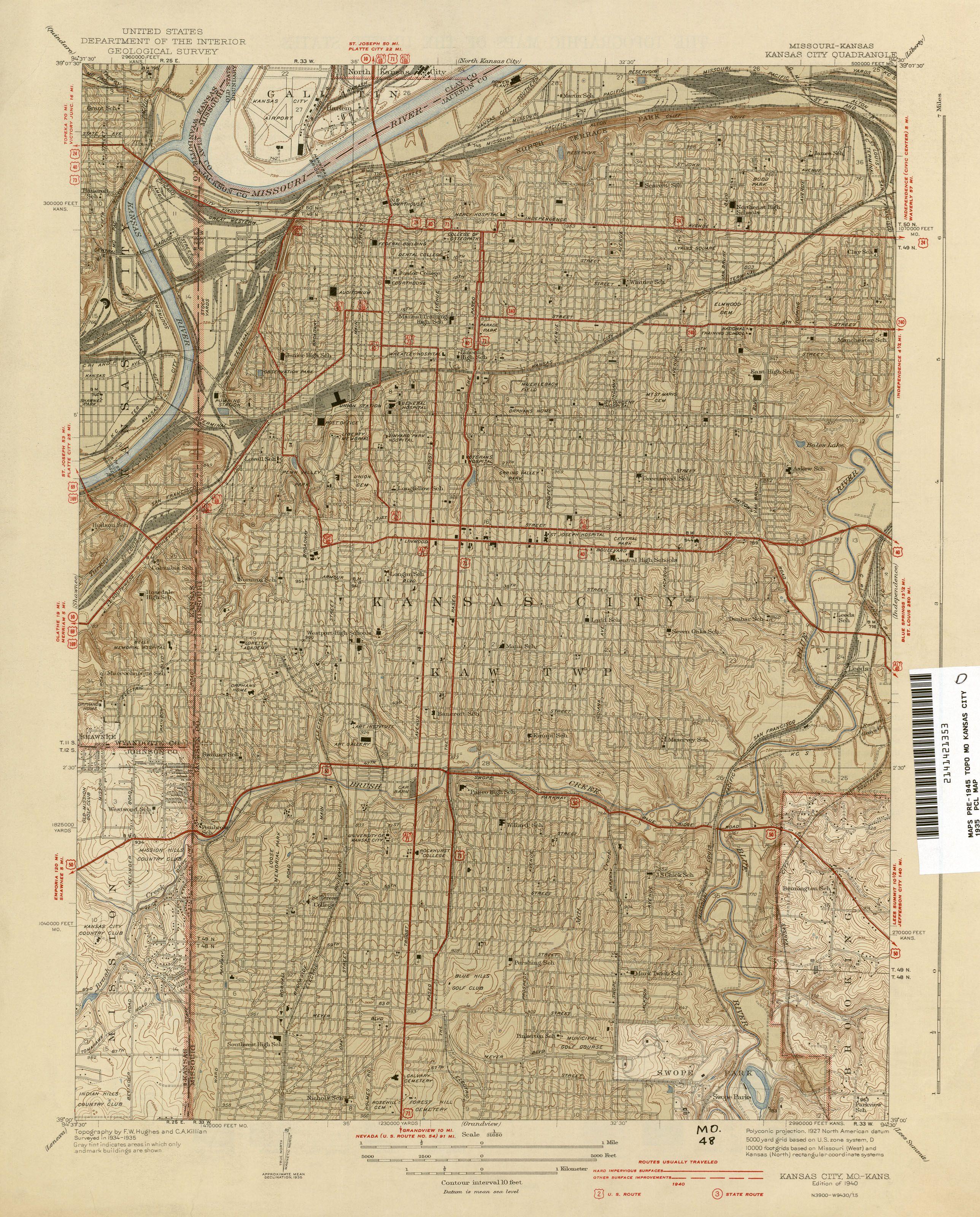 Old Kansas Map.Pin By Shane On Old Maps Kansas City Kansas City