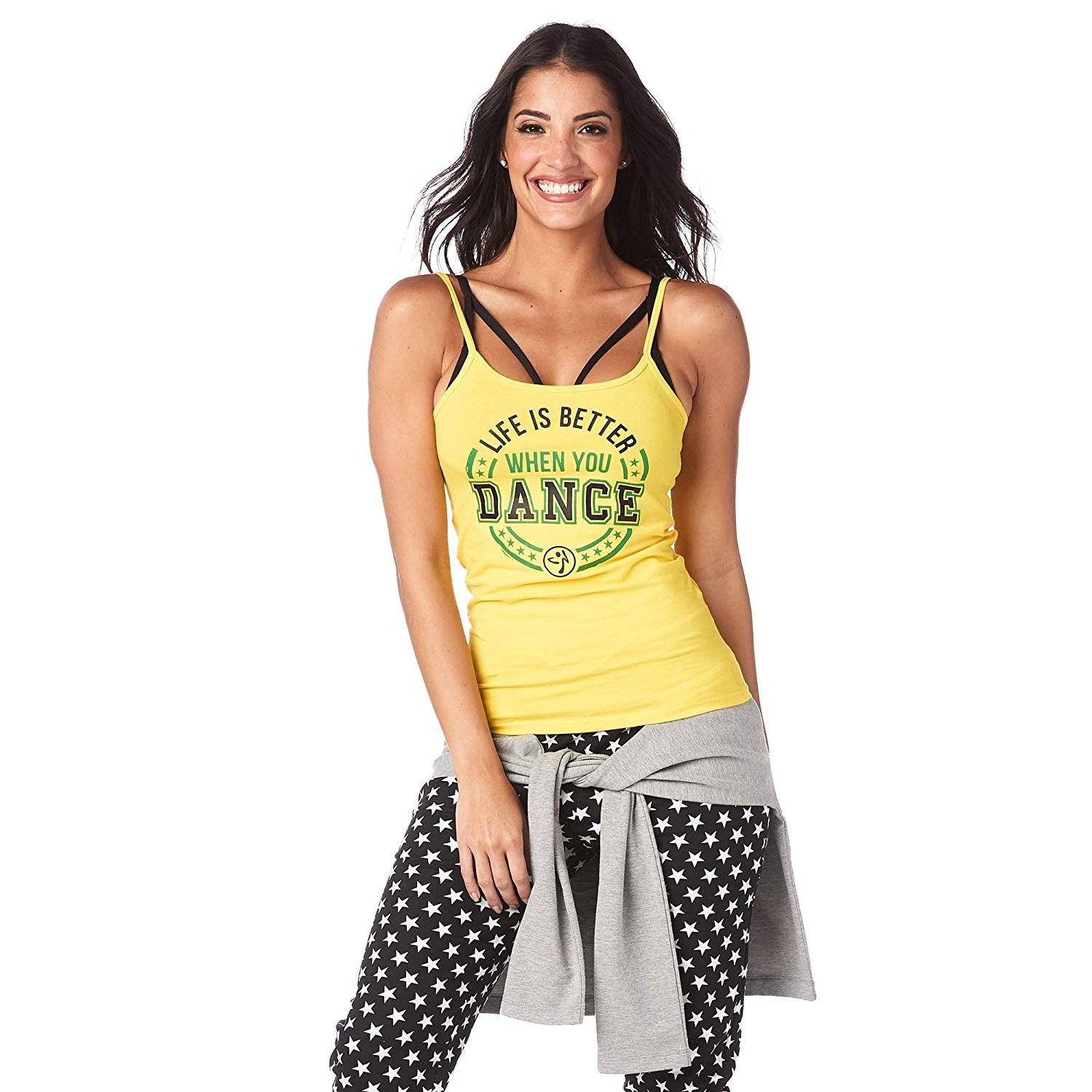 Women's Graphic Design Strappy Fit Workout Tank Top - Sunrays - XX-Large - C818KHKA6HR - Sports & Fi...