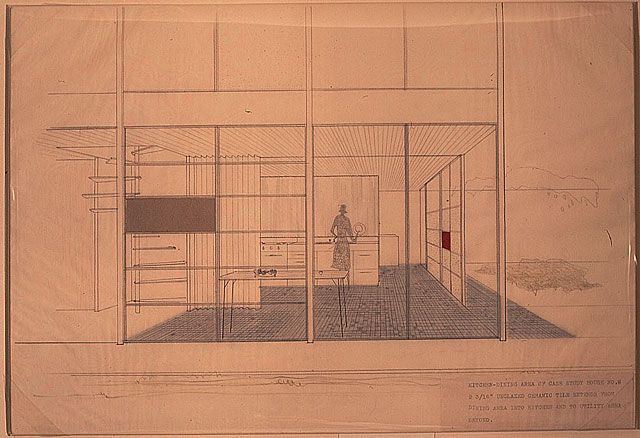 AD Classics Eames House Charles and Ray Eames