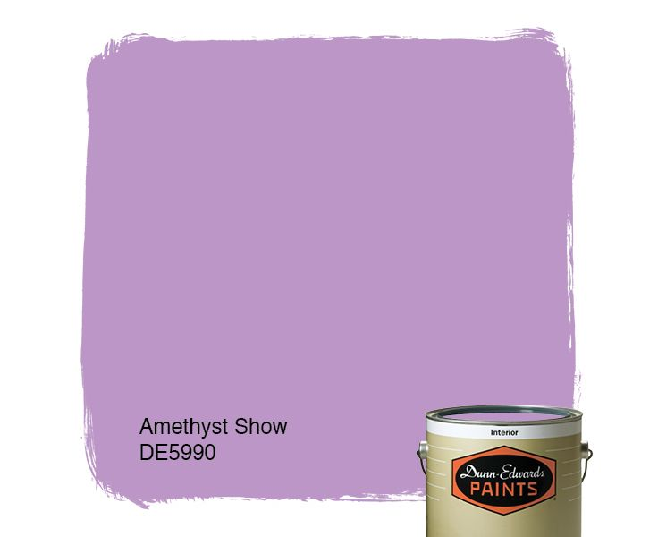 Shades Of Purple Paint dunn-edwards paints purple paint color: amethyst show de5990