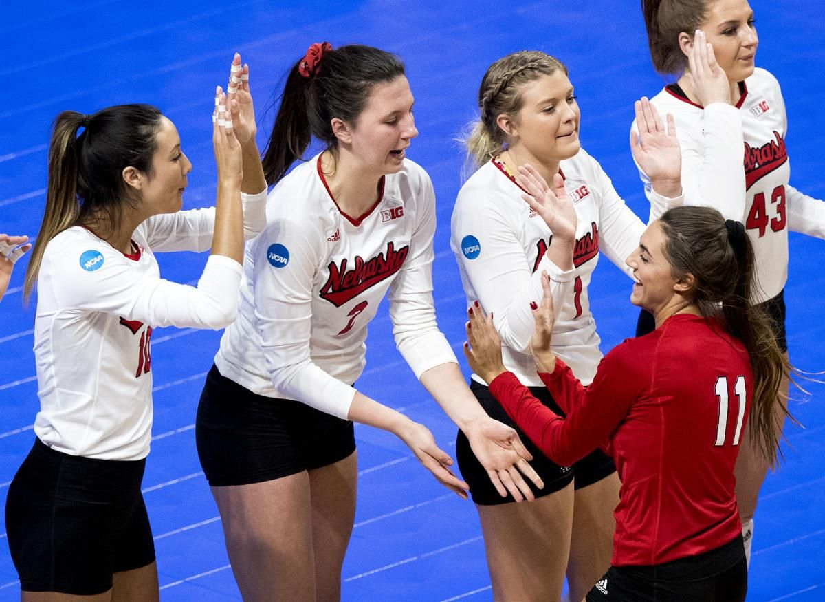 Foecke And Maloney Grew As Friends And Leaders While Guiding Nebraska To Another Final Four Volleyball Inspiration Female Athletes Nebraska