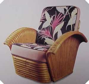 Wondrous Fan Arm Rattan Lounge Chair From The Golden Girls Tv Show Camellatalisay Diy Chair Ideas Camellatalisaycom