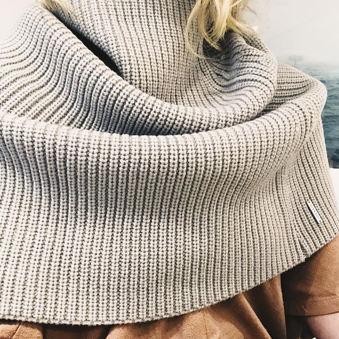 4432c23be2dc Just about as cozy as it get☁ Scarf  AVIA in the colour ash. Visit. January  2019