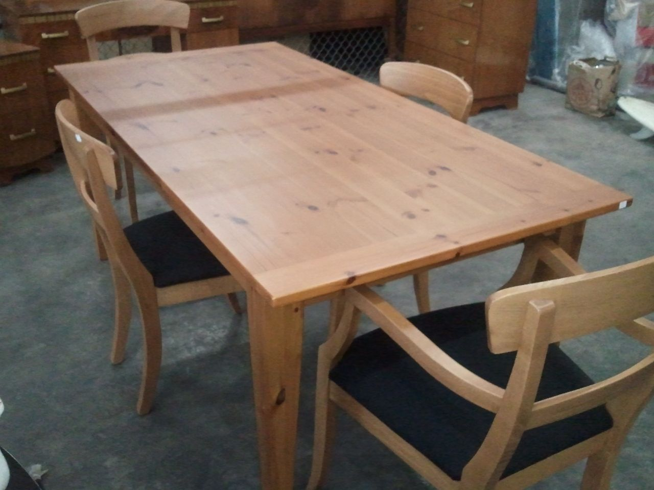 Knotty Pine Dining Room Set  Httpfmufpi  Pinterest Prepossessing Pine Dining Room Table And Chairs 2018