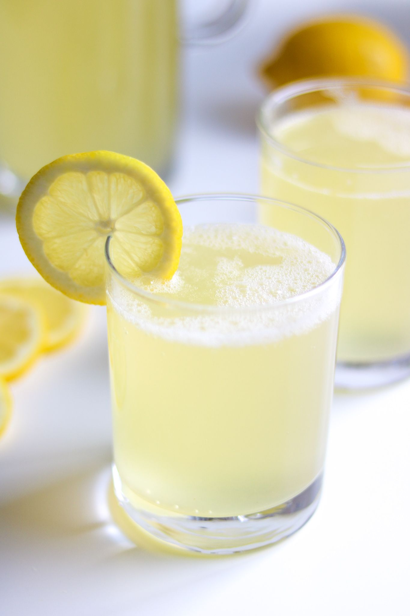 Sparkling Lemonade (Refined Sugar Free) - Simply Jillicious