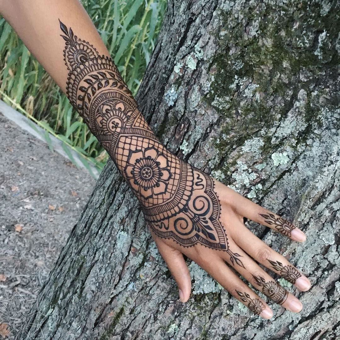 59 Henna Tattoo Designs Ideas: 24 Henna Tattoos By Rachel Goldman You Must See