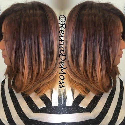Sleek and sexy hair beauty with ombre straight hair ombre shoulder length hair with ombre sleek and sexy hair beauty with ombre straight hair pmusecretfo Images