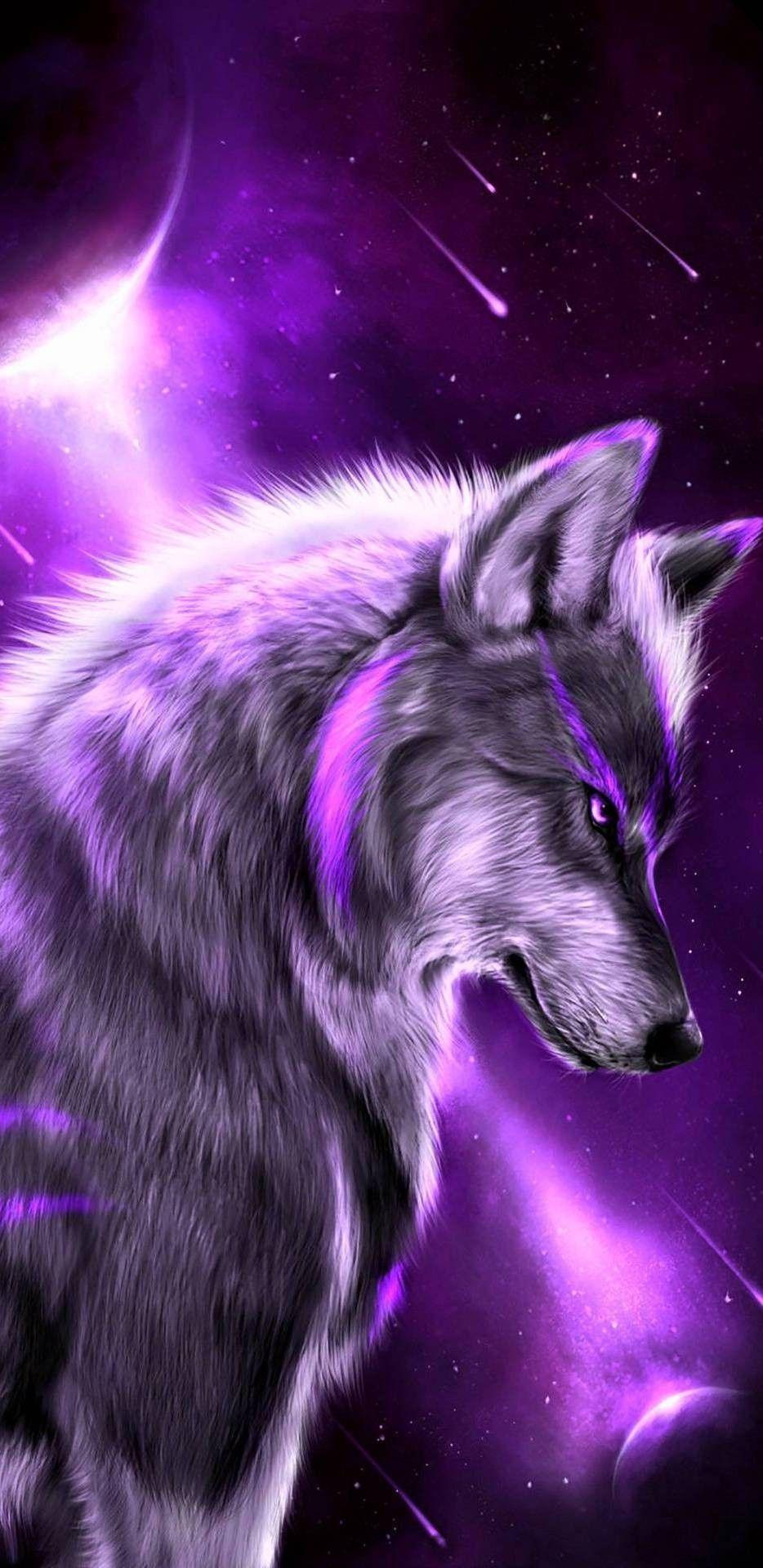 Pin Oleh Sheila Richard Di Canvas Gambar Serigala Serigala Melolong Binatang