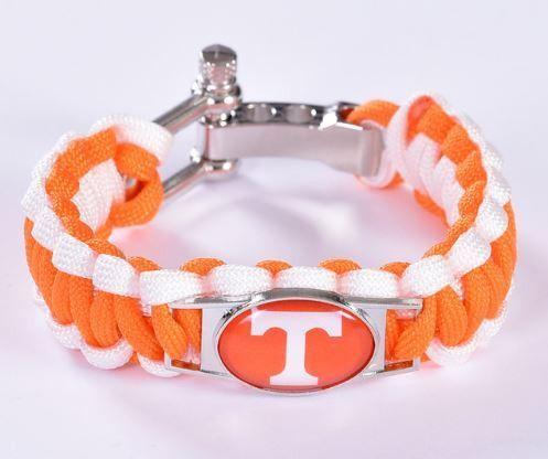 College - Tennessee Volunteers Custom Paracord Bracelet