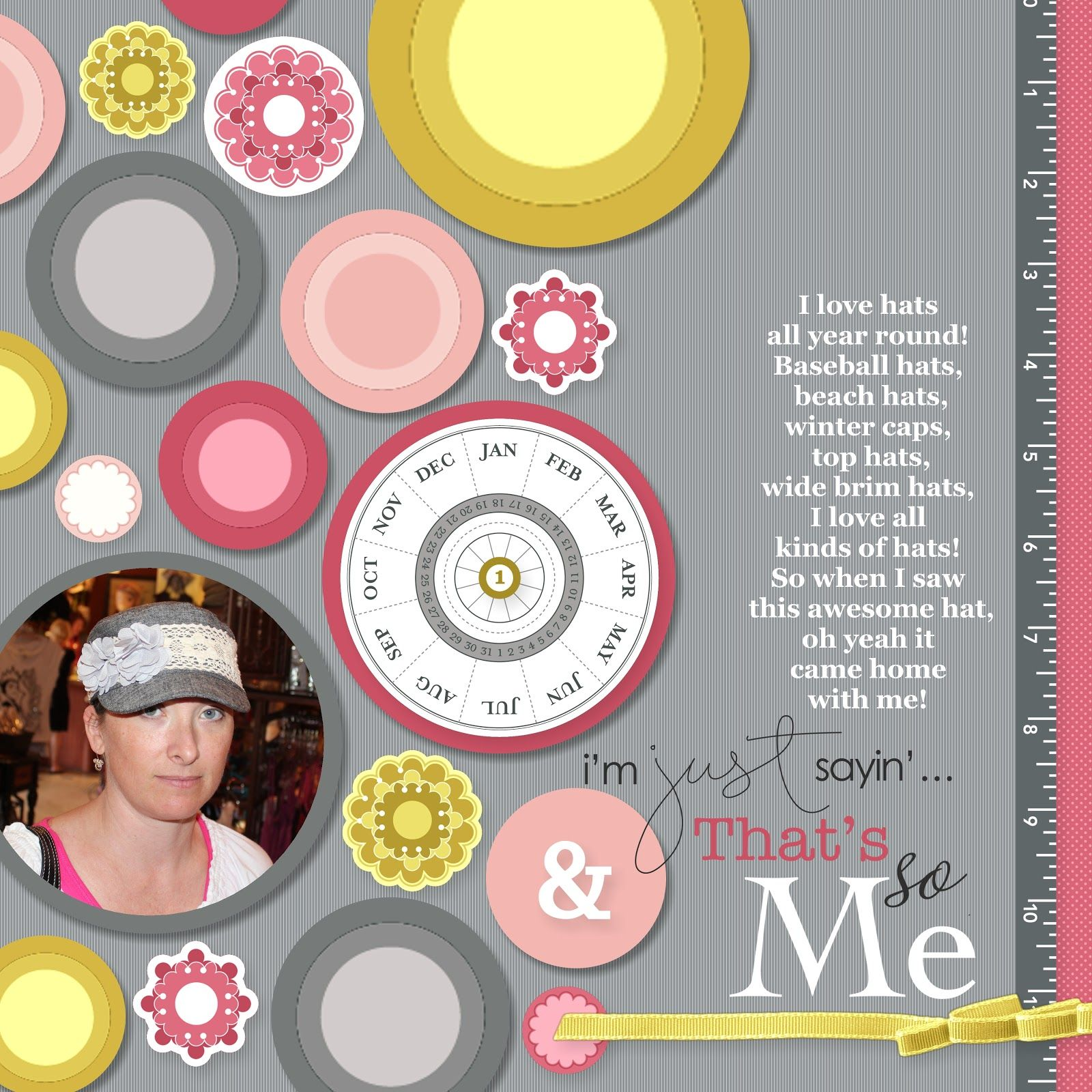 nutmeg creations: MDS Blog Hop Friday - Going in Circles!