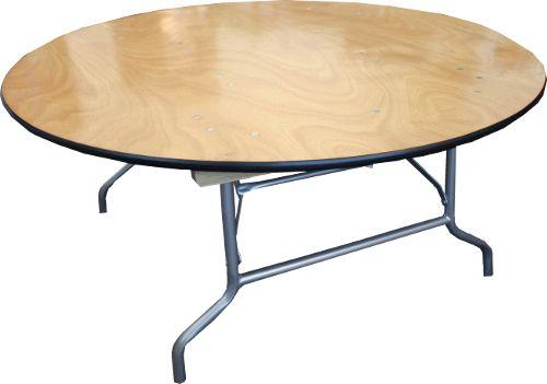 Wood Folding Table   KIDS Table   36u0027u0027 Round X21u0027u0027 High