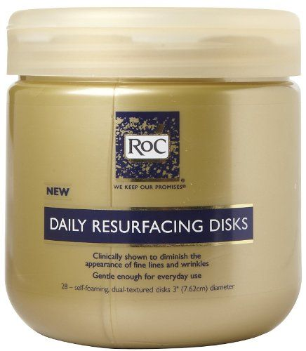 Roc Daily Resurfacing Disks 28 Ea Roc Skincare Makeup Remover Face And Body
