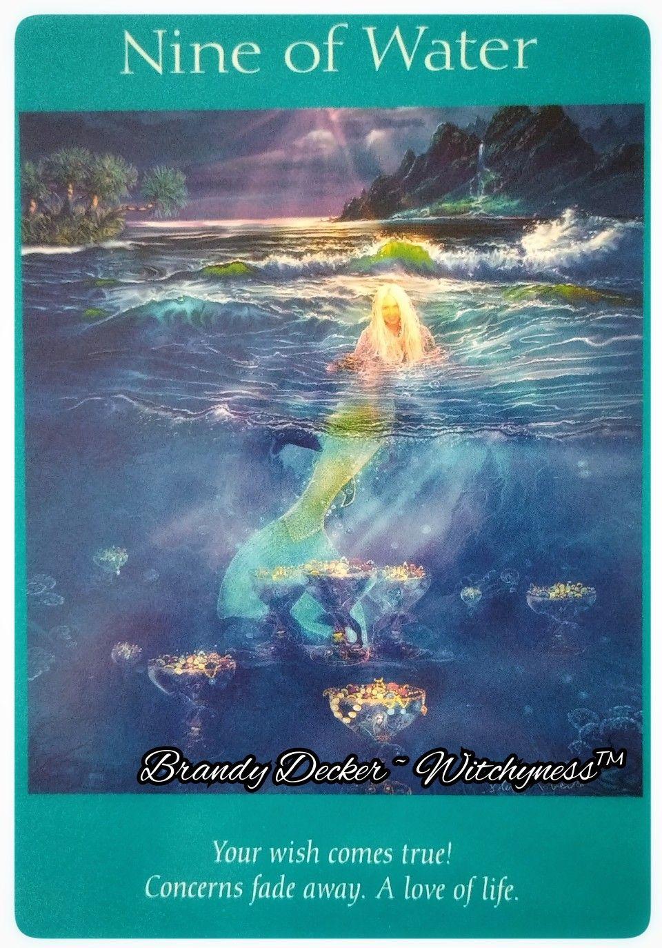Angel tarot card nine of water angel cards reading