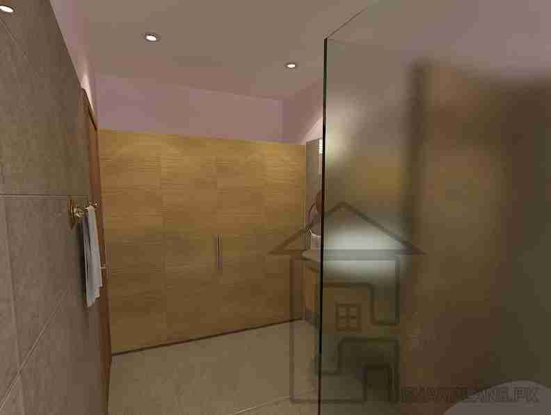Almari Design For Dressing Room Attached With The Bathroom