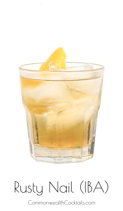Rusty Nail Iba From Commonwealth Cocktails En Us Com Recipe Rusty Nail Cocktails Recipe Steps