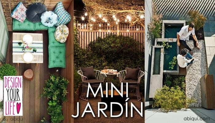 9 Ideas para mini jardines | Ideas para and Patios