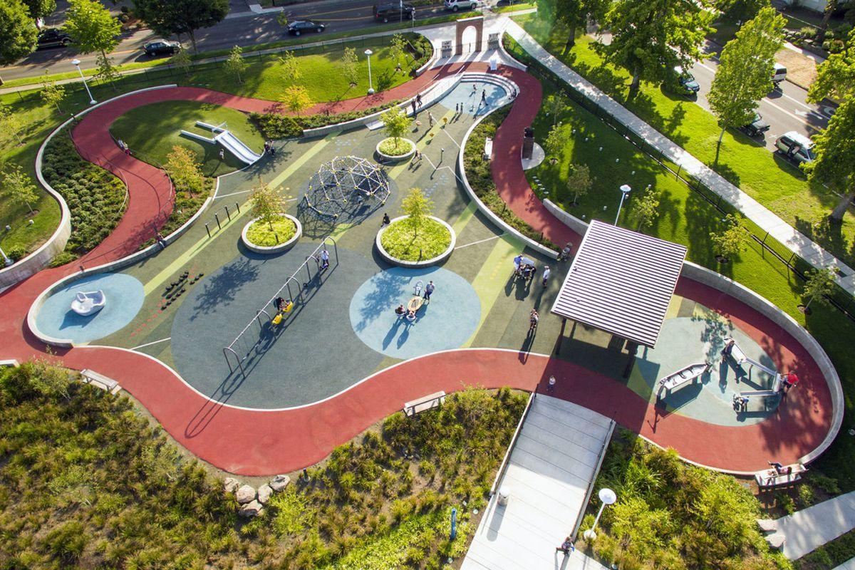 Accessible playground design = more inclusive