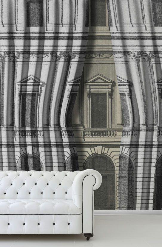 VELVET BUILDING Linha Illusion Jokes by Wallpepper