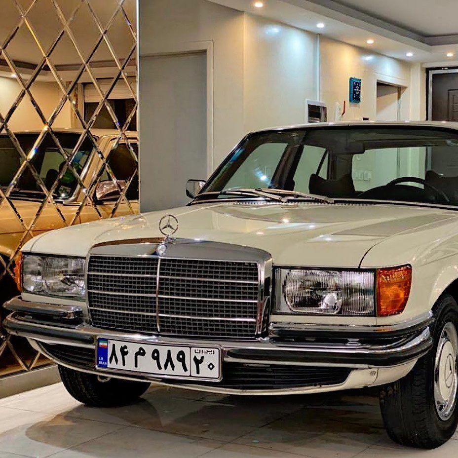 ماشين كلاسيك On Instagram 1975 Mercedes Benz W116 280s In Iran پيج جديد Mashin Classic Garage Tag Your Friends M In 2020 Benz Mercedes Benz Suv Car