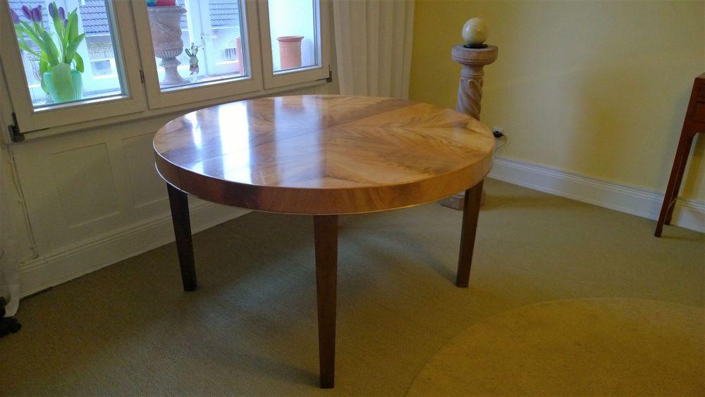 Edler Esstisch Ausziehbar Mahagoni Art Deco Neo Klassizismus Vintage Tisch Antik Tisch Antik Esstisch Ausziehbar Esstisch